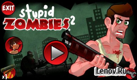 Stupid Zombies 2 v 1.5.2 Мод (свободные покупки)