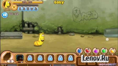 Larva Heroes: Lavengers v 2.8.2 Мод (Unlimited Gold/Candy)