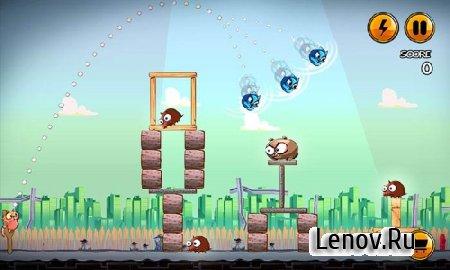 Angry Cats (обновлено v 1.0.8) Мод (много бонусов)