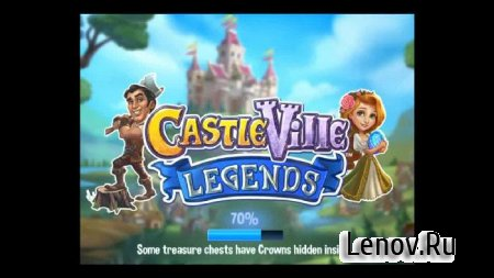 CastleVille Legends (обновлено v 4.1.457) Мод (много денег)