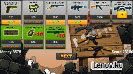 Zombies vs Soldier HD v 1.0.2 Mod (Unlimited Gold/Ad-Free)