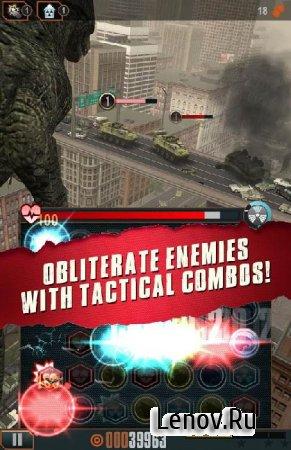 Godzilla - Smash3 (обновлено v 1.2.2) (Unlocked/Mod Power Ups/Ad-Free)