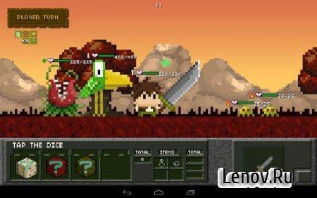 Tiny Dice Dungeon v 1.22.7 Мод (много денег)