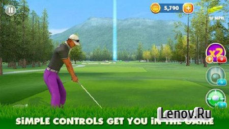 King of the Course Golf (обновлено v 2.2) (Mod Money)