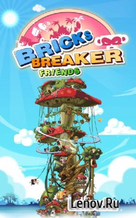 BRICKS BREAKER - FRIENDS v 1.0.8 Мод (много денег)