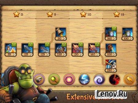 Evil Defenders v 1.0.20 Мод (много денег)