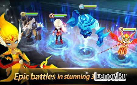 Summoners War: Sky Arena v 4.2.6 Мод (Enemies Forget Attack)