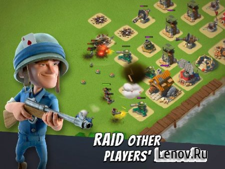 Boom Beach v 35.158 Mod (Unlimited Diamonds & Coins)