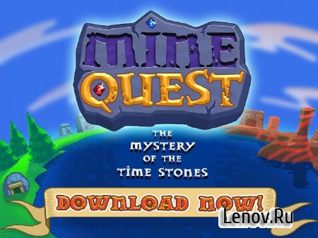 Mine Quest - Dwarven Adventure v 1.2.12 Мод (много кристаллов)
