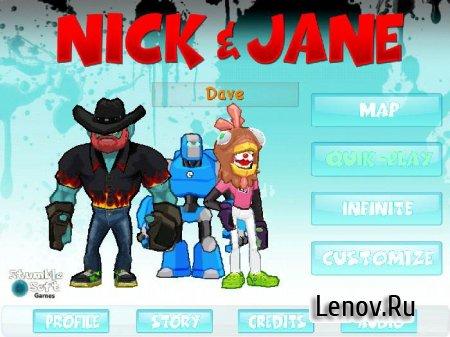 Nick & Jane HD (обновлено v 1.1) Мод (много денег)