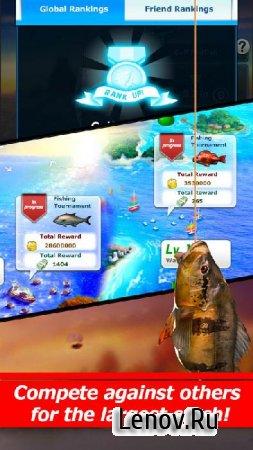 Улётный клёв: рыбалка в 3D v 4.3.0 Мод (простая ловля)