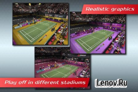 Badminton:Jump Smash™ 2014 v 1.2.42 Mod (Unlimited Money / Unlocked)