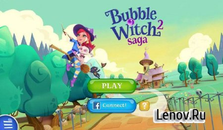 Bubble Witch 2 Saga v 1.108.1.0 Мод (Mod Boosters/Lives/Moves)