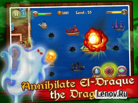 Legends of Dragon's Pirates TD v 1.0.3 Мод (много денег)