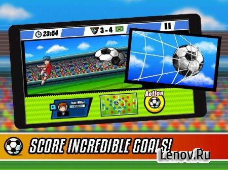 Soccer Heroes RPG Score Eleven (обновлено v 2.1.2) Мод (много денег)