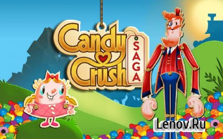Candy Crush Saga v 1.161.0.2 Мод (Unlock all levels)