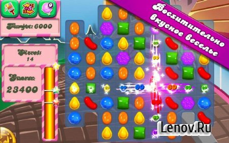 Candy Crush Saga v 1.155.0.3 Мод (Unlock all levels)