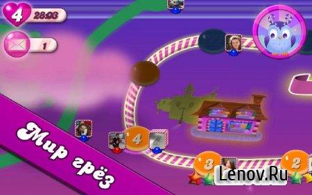 Candy Crush Saga v 1.136.0.3 Мод (Infinite Lives & More)