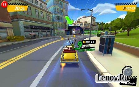 Crazy Taxi™ City Rush (обновлено v 1.7.6) Мод (много денег)