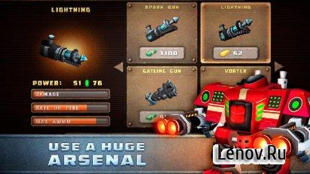 Steel Mayhem v 1.0.4 Мод (много денег)