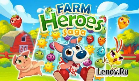 Farm Heroes Saga v 5.18.5 Mod (Unlimited Lives & More)