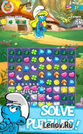 Smurfette's Magic Match (обновлено v 1.2.2) Мод (много денег)