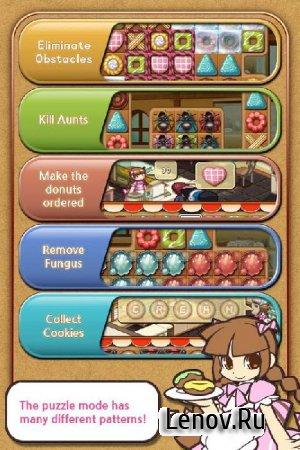 Donut Bakery Slide Puzzle v 1.8 Мод (много денег)