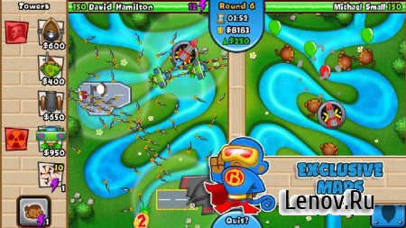 Bloons TD Battles v 5.0.2 Мод (Unlimited Everything/Unlocked)