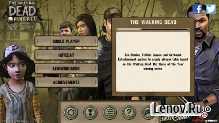 The Walking Dead Pinball (обновлено v 1.0.4)