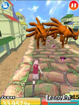 Ultimate Ninja 3D Run Battle v 1.0 Мод (много денег)
