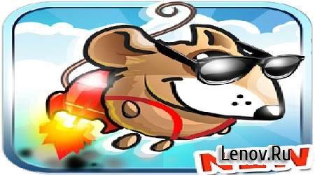 Jetpack mouse. Fantasy world. v 1