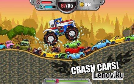 Monster Wheels Kings of Crash v 1.1 Мод (много денег)