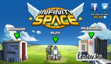 Infinity Space v 1.40 Mod (Unlimited Gems)