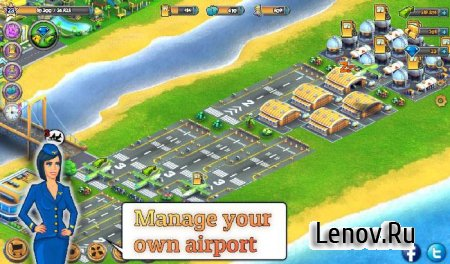 City Island: Airport ™ v 2.6.2 Мод (много денег)