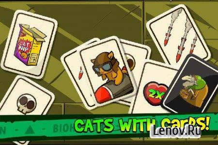 Zombie Cat Madness v 1.1 Мод (много черепов)