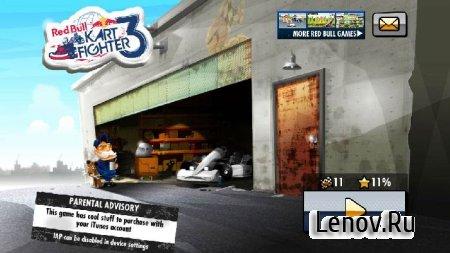 Red Bull Kart Fighter 3 v 1.7.2 Мод (много денег)