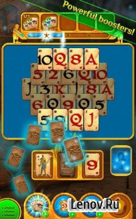 Pyramid Solitaire Saga v 1.84.0 Мод (Infinite lives/Boosters/Unlock all levels/episodes)