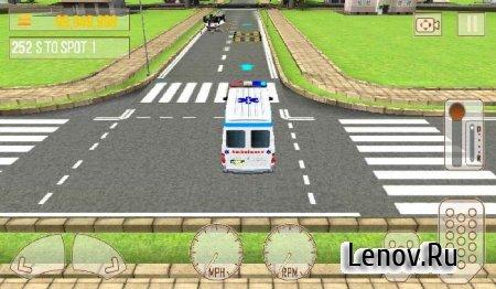 Ambulance Rescue Simulator 3D (обновлено v 1.2) Мод (много денег)
