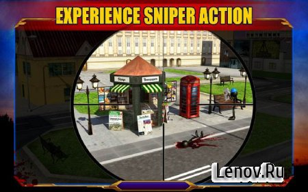 Stickman Sniper Shooting 3D v 1.0 Мод (много денег)