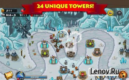 Tower Defense Kingdom: Advance Realm v 3.0.3 Мод (много денег)