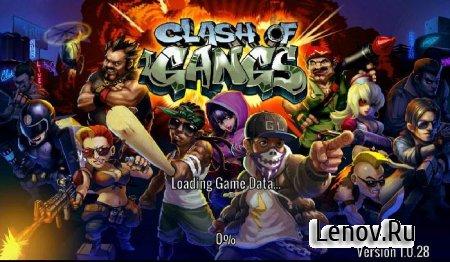 Clash of Gangs Beta (обновлено v 1.4.1) (Online) (Mod Money)