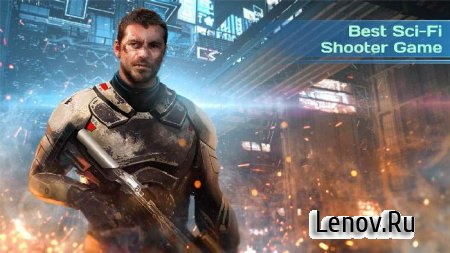 Dead Earth: Sci-fi FPS Shooter (обновлено v 2.0) Мод (много денег)