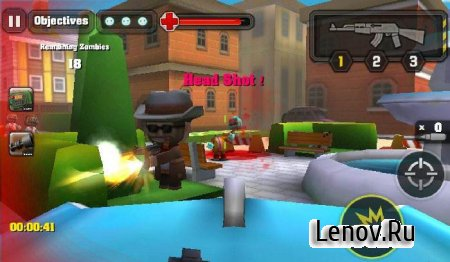 Action of Mayday: Zombie World (обновлено v 1.3.1) (Mega Mod)