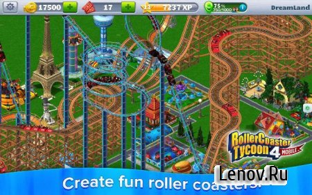 RollerCoaster Tycoon® 4 Mobile v 1.13.9 (Mod Money)