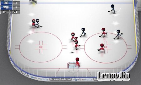 Stickman Ice Hockey v 1.7 Мод (много денег)
