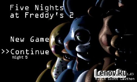 Five Nights at Freddy's 2 (обновлено v 1.07) Mod (Unlocked)