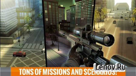 Sniper 3D Assassin v 2.16.11 Мод (Coins/Gems)