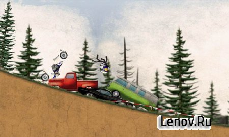 Stickman Downhill - Motocross v 3.4 Mod (Unlocked)