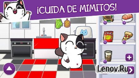 Mimitos Virtual Cat - Virtual Pet with Minigames v 2.45.0 Мод (много денег)