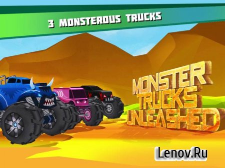 Monster Trucks Racing 2019 v 3.3.5 Мод много денег)